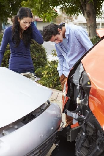 Car Accident by careless driving - Take Notes!